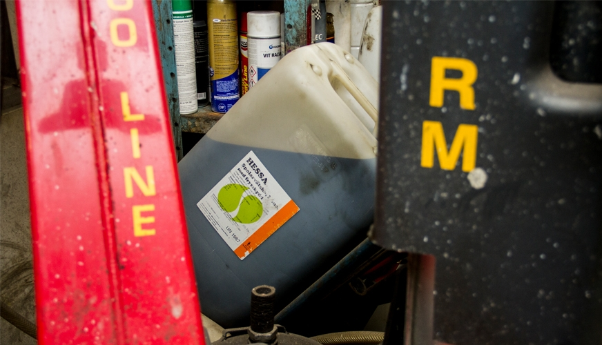 Reportage: Miljötänk i verkstaden