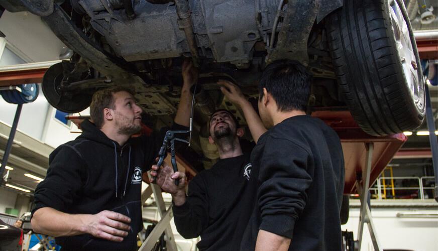 Reportage: De nya mekanikerna