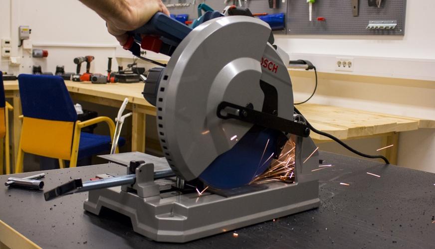 DMV testar Bosch Metallkap