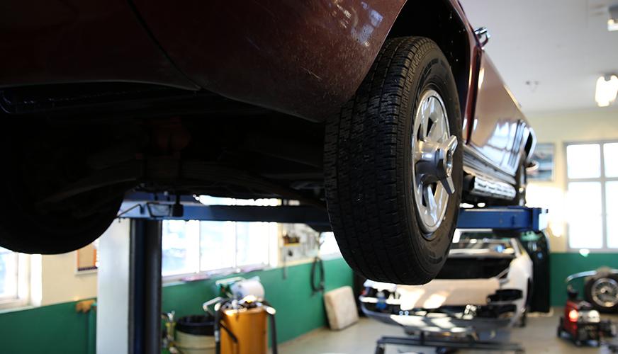 Avdrag vid bilreparationer