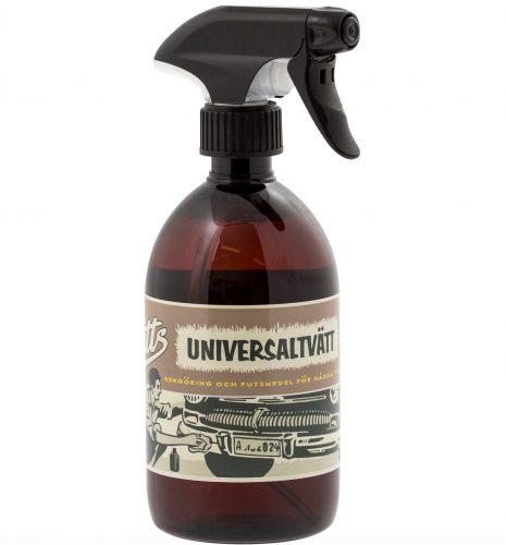 Universaltvätt för bilens insida