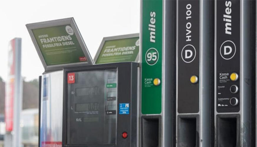 Miljövänligare bränsle kommer till Stockholm
