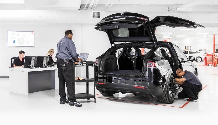 Framtidens service: Tesla