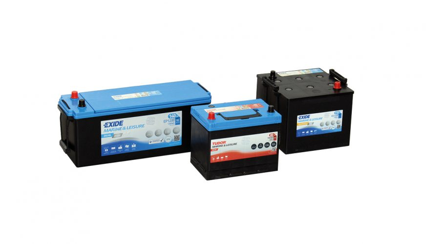 Certifierade batterier från Exide