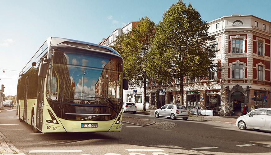 Uddevalla är bussiga mot miljön