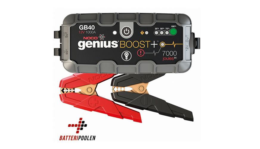 Vinn en NOCO GB40 Genius Boost + från Batteripoolen.