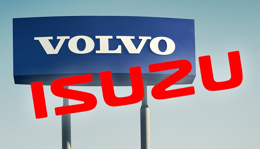 Allians mellan Volvokoncernen och Isuzu Motors
