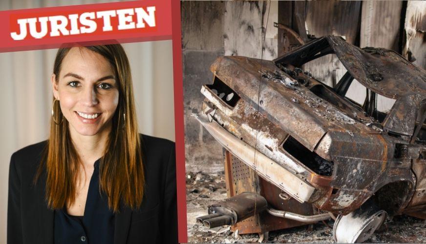 Juristen: Vad händer om bilen brinner upp?