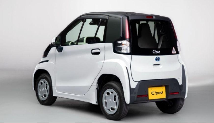 Minimal elbil från Toyota